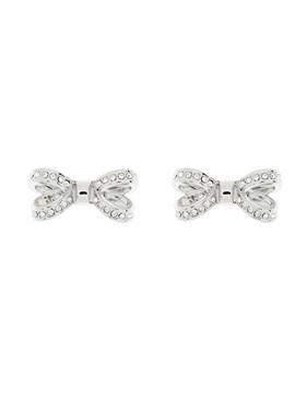 Ted Baker Olitta Mini Opulent Pavé Bow Earrings  - Click to view larger image