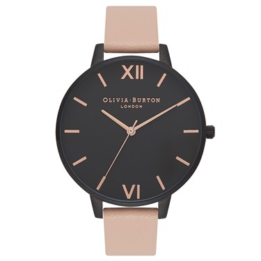 Olivia Burton After Dark Nude Peach Watch  - Click to view larger image