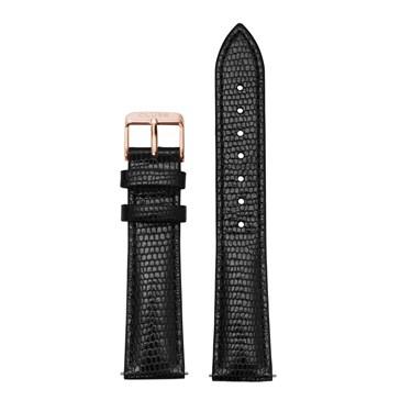 CLUSE La Bohème Black Lizard & Rose Gold Strap   - Click to view larger image