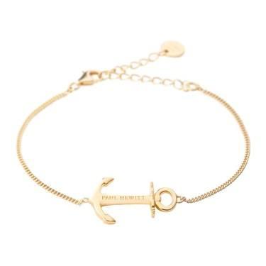 Paul Hewitt Anchor Spirit Gold Bracelet  - Click to view larger image