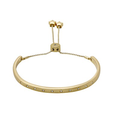 Pilgrim Winter Gold Plated Pull Bracelet  - Click to view larger image