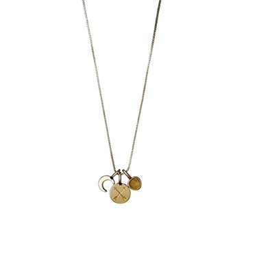 Pilgrim Friendship Fortune Necklace  - Click to view larger image