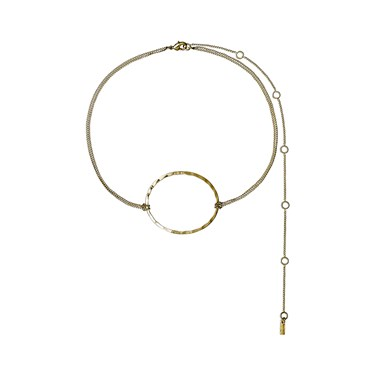Pilgrim Abbie Gold Plated Choker  - Click to view larger image