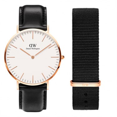 Daniel Wellington Sheffield and Cornwall Strap Gift Set  - Click to view larger image