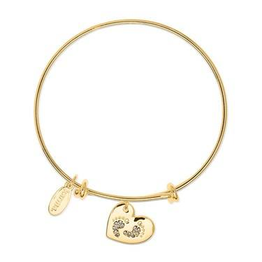 Karma TinyLife Gold Bangle  - Click to view larger image