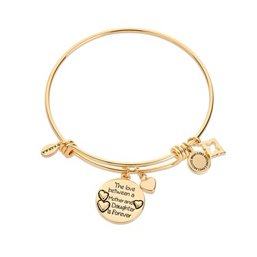 Karma Gold Mother Daughter Bangle  - Click to view larger image