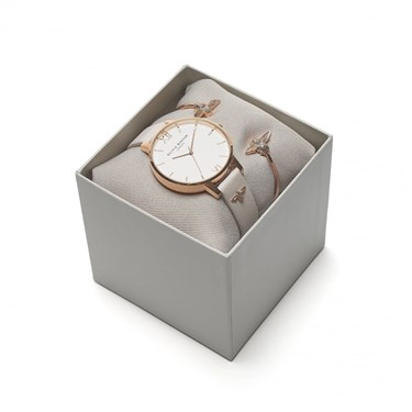 Olivia Burton 3D Bee Rose Gold Gift Set  - Click to view larger image