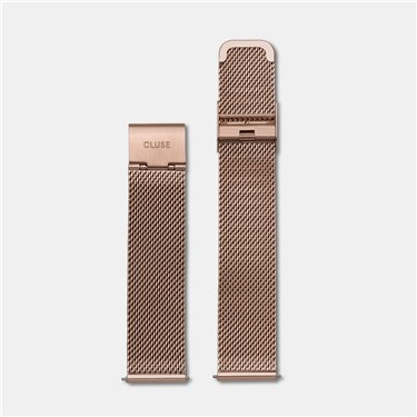 CLUSE Minuit Rose Gold Mesh Strap   - Click to view larger image