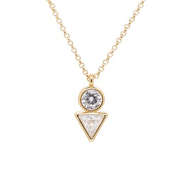 KATE SPADE NEW YORK BRIGHT IDEAS TRIANGLE GOLD MINI PENDANT的圖片搜尋結果