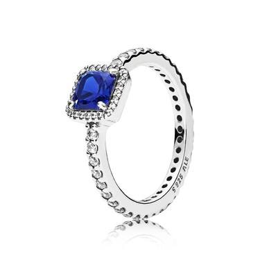 16bec6b4d Pandora Blue Timeless Elegance Ring - Click to view larger image