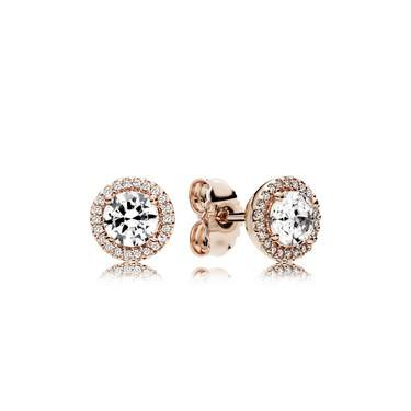 Pandora Rose Classic Elegance Stud Earrings  - Click to view larger image