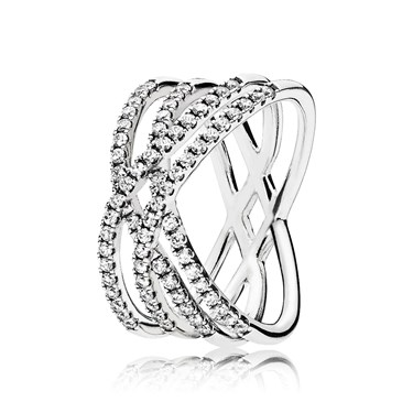 Pandora Cosmic Lines Ring  - Click to view larger image