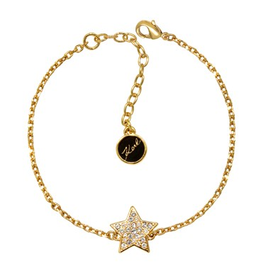 Karl Lagerfeld Gold Star Bracelet  - Click to view larger image