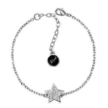 Karl Lagerfeld Silver Star Bracelet  - Click to view larger image