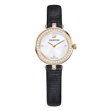 Swarovski Aila Dressy Mini Black Watch  - Click to view larger image
