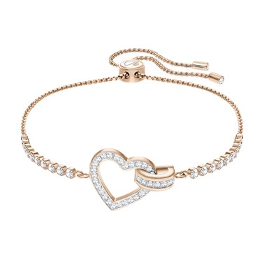 Swarovski Lovely Rose Gold Bracelet  - Click to view larger image