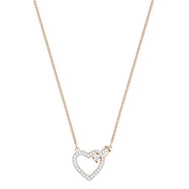 Swarovski Lovely Rose Gold Necklace  - Click to view larger image