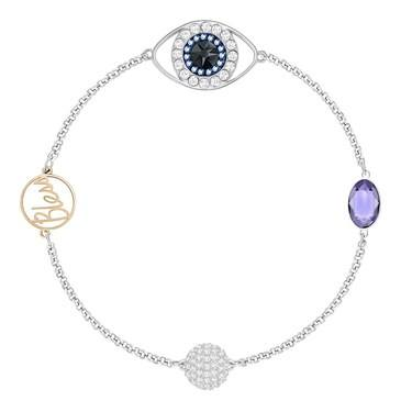 Swarovski Remix Collection Eye Bracelet  - Click to view larger image