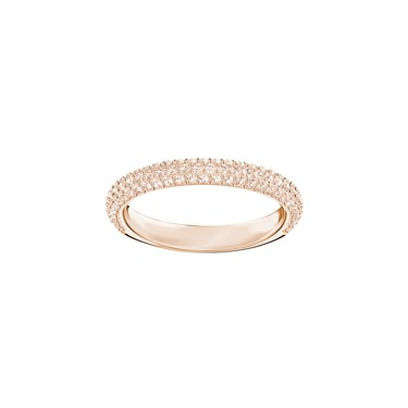 Swarovski Stone Mini Rose Gold Ring  - Click to view larger image