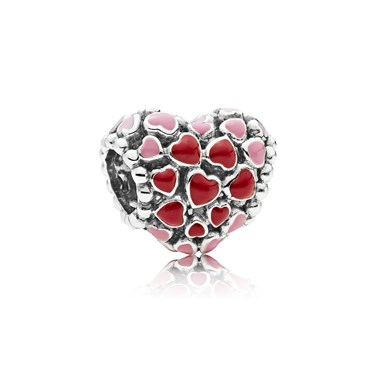 Pandora Burst of Love Charm  - Click to view larger image