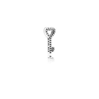 Pandora Heart Key Petite Locket Charm  - Click to view larger image