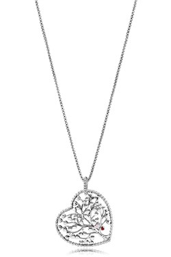 PANDORA Tree of Love Necklace  - Click to view larger image