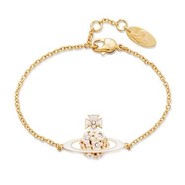 Vivienne Westwood Azalea Bas Relief Gold Bracelet  - Click to view larger image