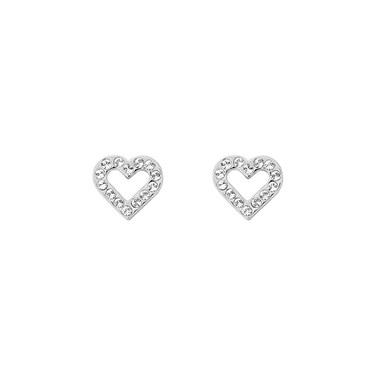 Ted Baker Edesiah Enchanted Heart Stud Earrings  - Click to view larger image