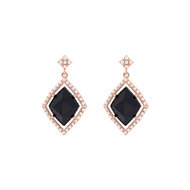 Ted Baker Raynn Regal Black Gem Earrings  - Click to view larger image