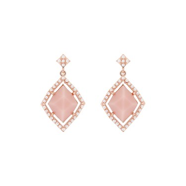 Ted Baker Raynn Regal Pink Gem Earrings  - Click to view larger image