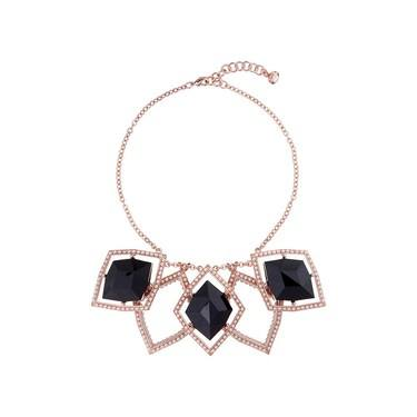 Ted Baker Roma Regal Black Gem Necklace  - Click to view larger image