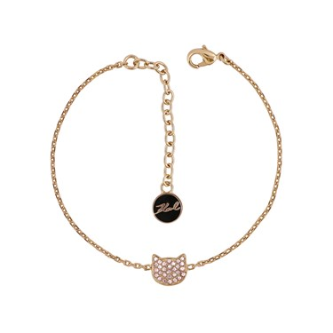 Karl Lagerfeld Rose Gold Choupette Bracelet  - Click to view larger image