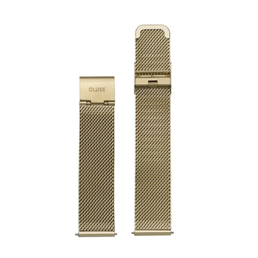 CLUSE 16mm Gold Mesh Strap  - Click to view larger image