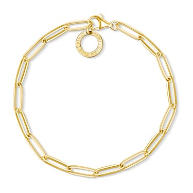 Thomas Sabo Gold Chain Bracelet  - Click to view larger image