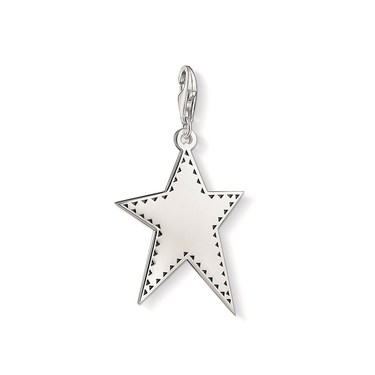 Thomas Sabo Silver Star Pendant  - Click to view larger image