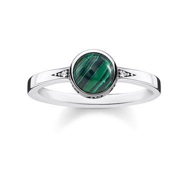 Thomas Sabo Green Agate Stone  - Click to view larger image