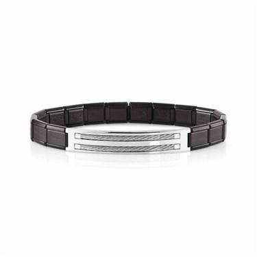 Nomination Black Trendsetter Bracelet  - Click to view larger image