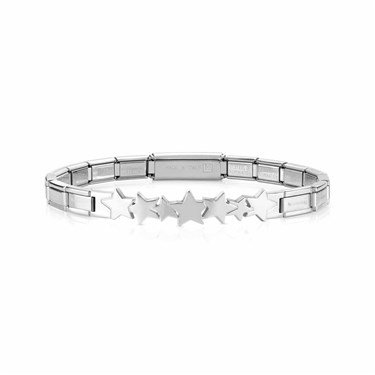 Nomination Silver Trendsetter Star Bracelet  - Click to view larger image