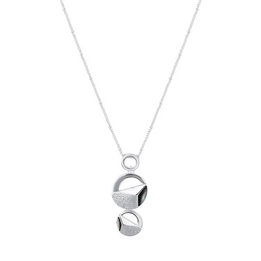 August Woods Open Circle Necklace  - Click to view larger image