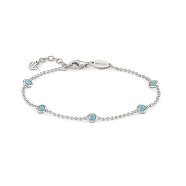 Nomination Bella Bloom Turquoise Bracelet  - Click to view larger image