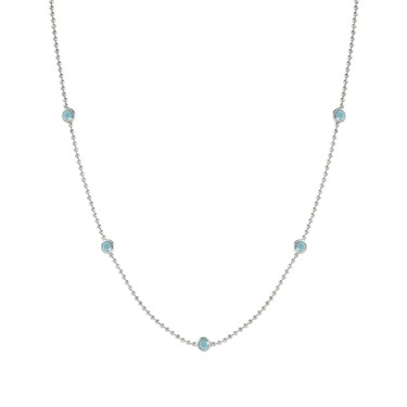 Nomination Bella Bloom Turquoise Necklace  - Click to view larger image