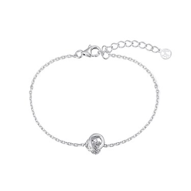 Argento Crystal Knot Bracelet  - Click to view larger image