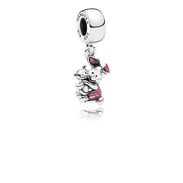 Pandora Disney Piglet Pendant Charm  - Click to view larger image
