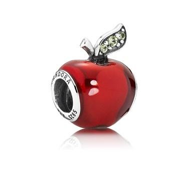 Pandora Disney Snow White's Apple Charm  - Click to view larger image