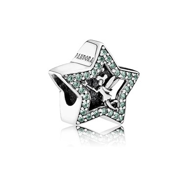 Pandora Disney Tinker Bell Star Charm  - Click to view larger image