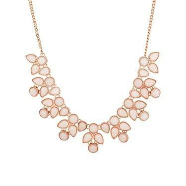 August Woods Blush Pink Necklace  - Click to view larger image