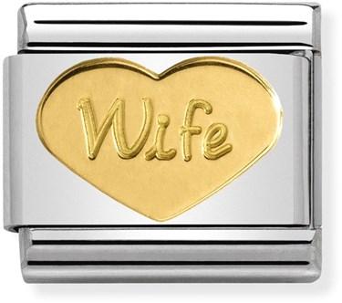 9b8505b21cab5 Gold Wife Charm