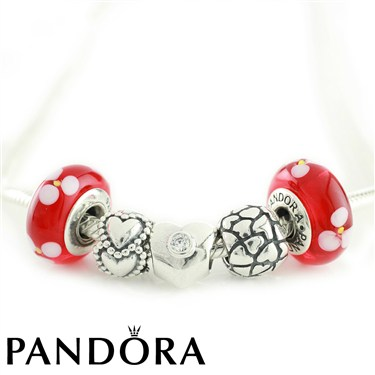 Pandora Be Mine Necklace