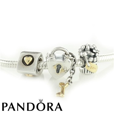 Pandora Close To My Heart Necklace