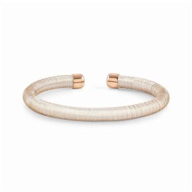 Nomination Essenzia White & Rose Gold Bracelet  - Click to view larger image